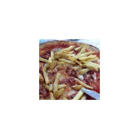Pizza Wurstel e Patatine -...
