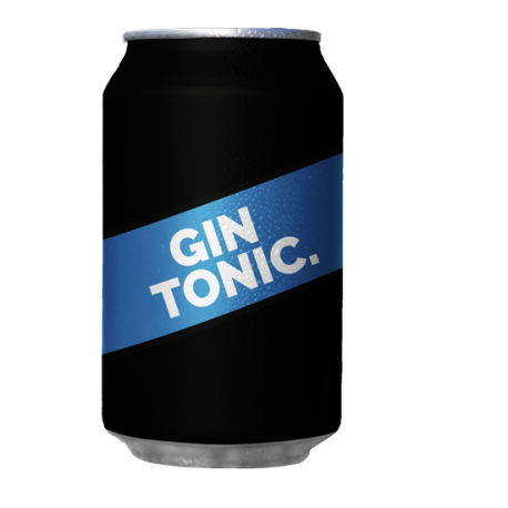 Lattina di Gin Tonico 33 cl...