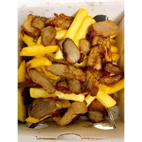 Patatine Fritte con Kebab -...