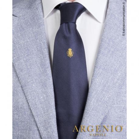 Cravatta Stemma Oro Regno...
