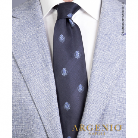 Cravatta Stemmi Azzurri...