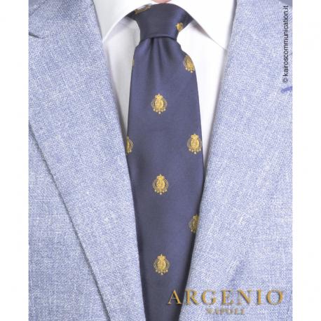 Cravatta Stemmi Oro Regno...