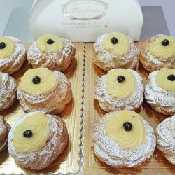 Zeppola San Giuseppe Fritta - Pasticceria Mincione