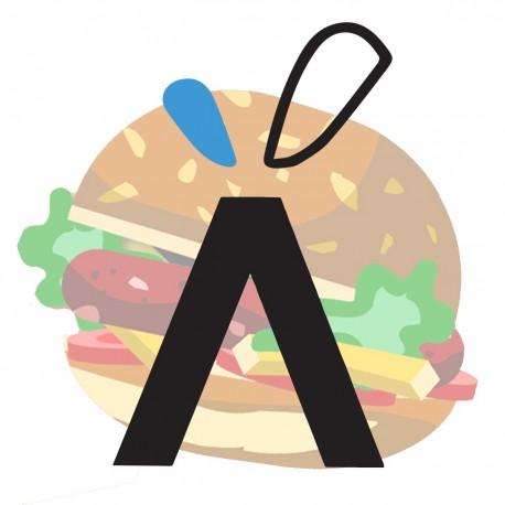 Panino con hamburger - La...