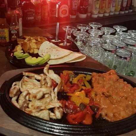 Chicken Faijtas - Dixie Pub