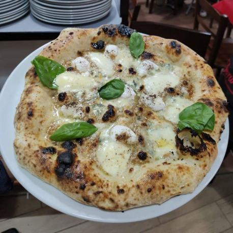 Pizza Bianca - Pizz A' Street