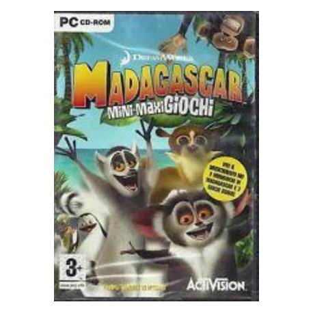 PC Madagascar Mini-Maxi Giochi