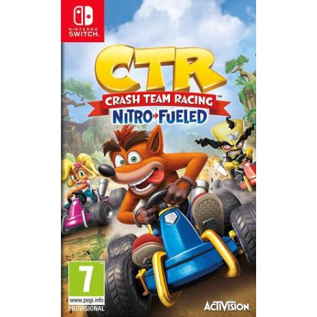 Switch Crash Team Racing...