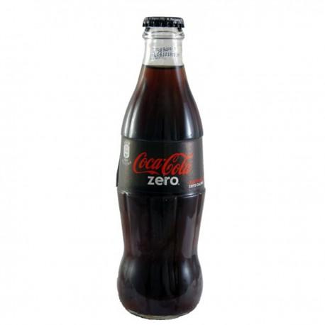 Coca Cola Zero in Vetro 33cl