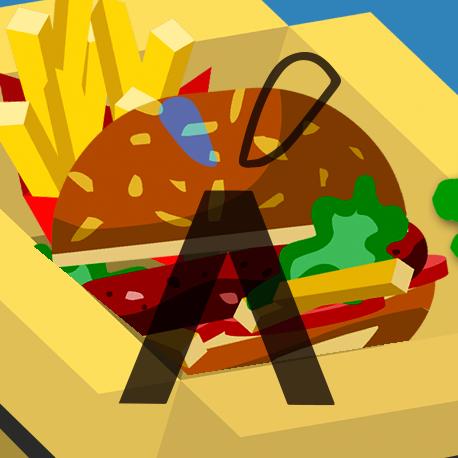 Chips con Hamburger di...