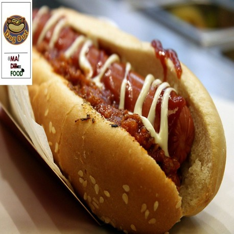 Hot Dog con Chili - Dog Out